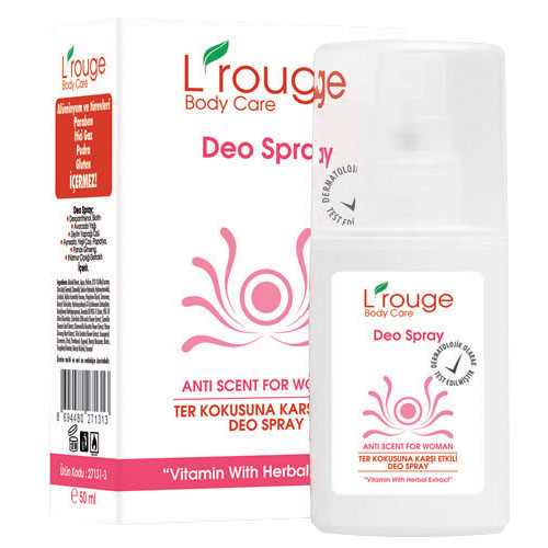 l'rouge Deo Spray For Woman/50 ml