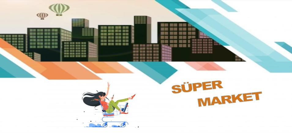 süper market banner