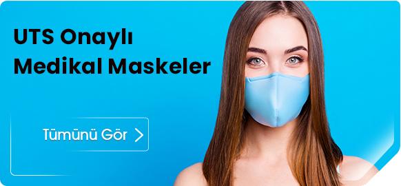UTS Onaylı Medikal Maskeler