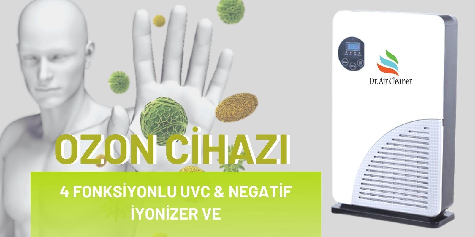 4 fonksiyonlu ozon cihazı