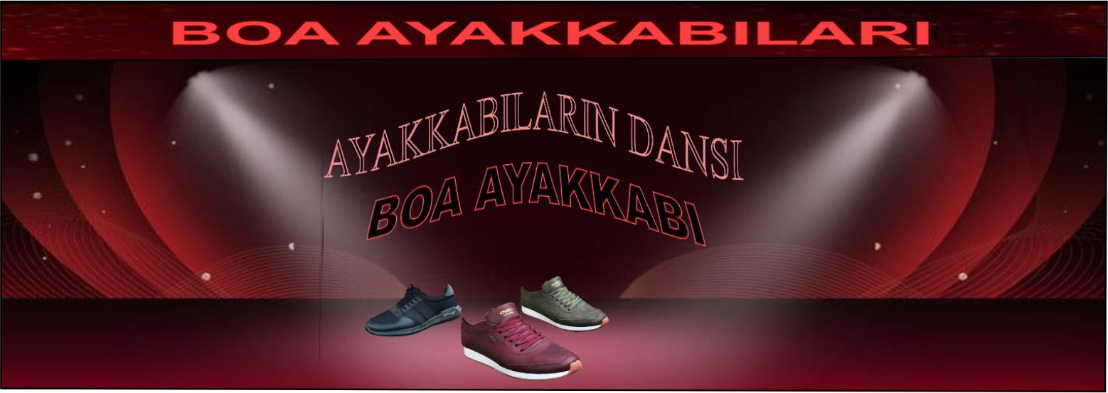 boa ayakkabı reklam