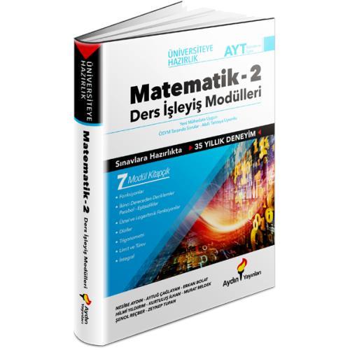 Aydın Yayınları AYT Matematik 2 Ders İşleyiş Modülleri Aydın