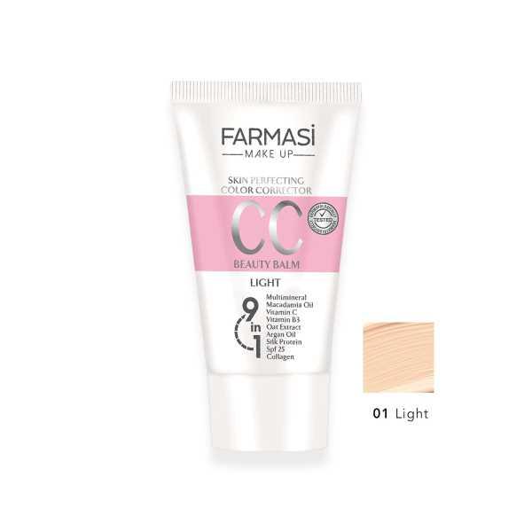 CC Light 01 numara  Krem Farmasi 50 ML.Ücretsiz KARGO