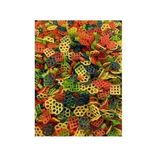 Yağda Büyüyen Renkli Karışık Cips 1 KG