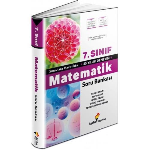Aydın Yayınları 7.Sınıf Matematik Soru Bankası 2022 Aydın