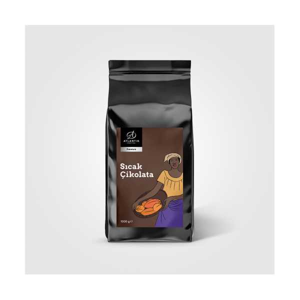 Atlantik Coffee  Sıcak Çikolata Premium 1000 gr