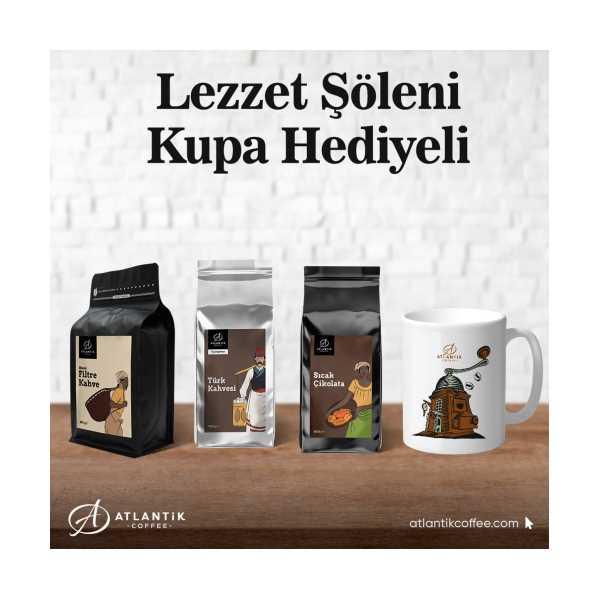 Atlantik Coffee Lezzet Şöleni Kupa Hediyeli