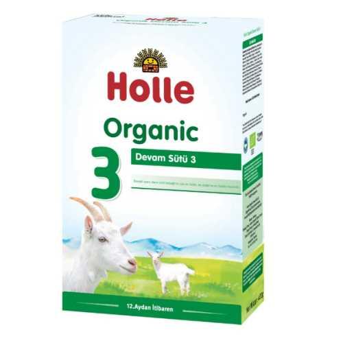 HOLLE ORGANİK KEÇİ  BÜYÜME SÜTÜ 3 NUMARA 400grm ( 12-36 AY)-Doğal sağlık ürünleri