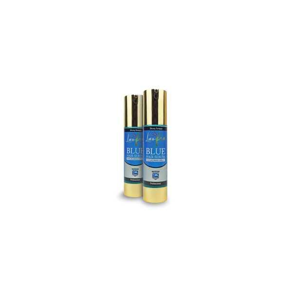 Laofix Saç Dökülmesine Karşı Doğal Mavi Su Saç Bakım Serumu 50+50 ml 2'li