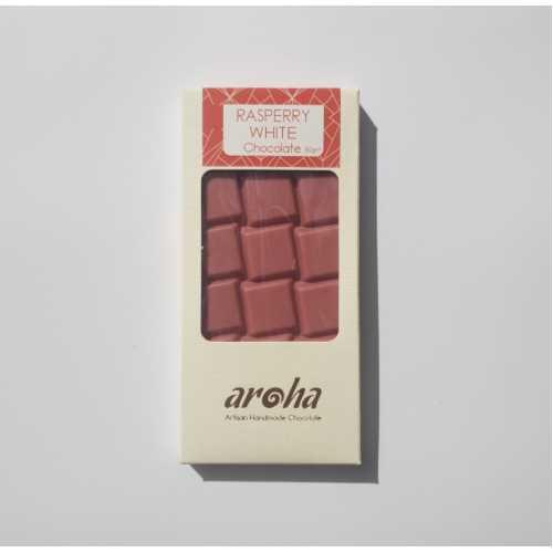 Aroha Frambuazlı Beyaz Çikolata - %50 Kakao