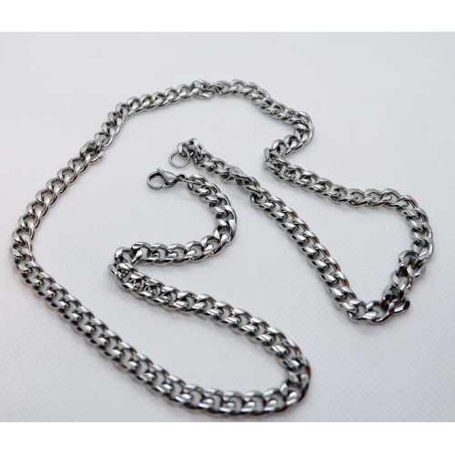 316L Kararmaz kalitede çelik zincir. Garantili Kesinlikle okside olmaz ..