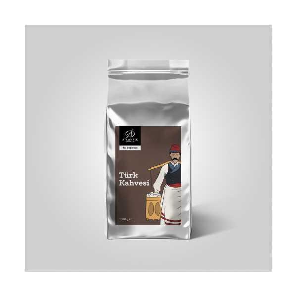 ATLANTİK COFFEE TÜRK KAHVESİ 1000 GR