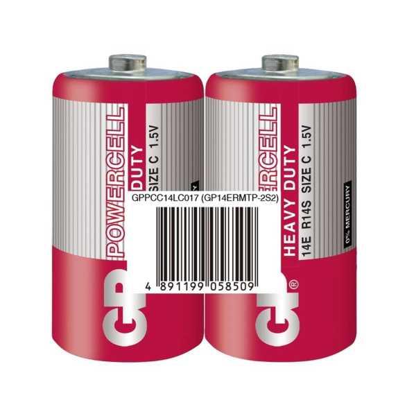 Gp Powercell 14E Orta Boy Pil C/R14/E93 2'li Paket
