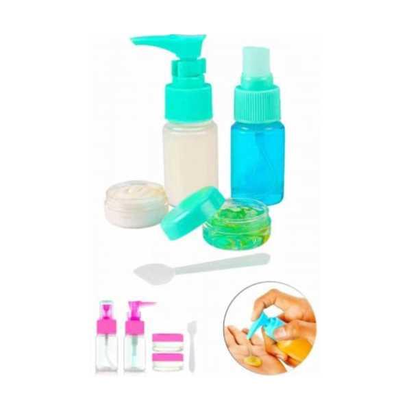 Parfüm Şişesi - Kozmetik Şişesi - 5li Seyahat Doldurulabilir Kozmetik Seti