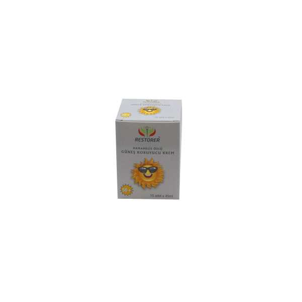 Restorer Güneş Kremi +50 - Tek Kullanımlık 15 Paket 0009