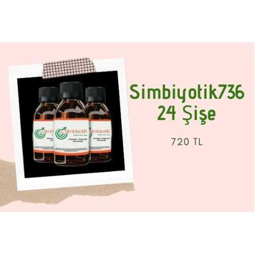 Simbiyotik 736 -Probiyotikli Gıda İçeceği 24 Şişe