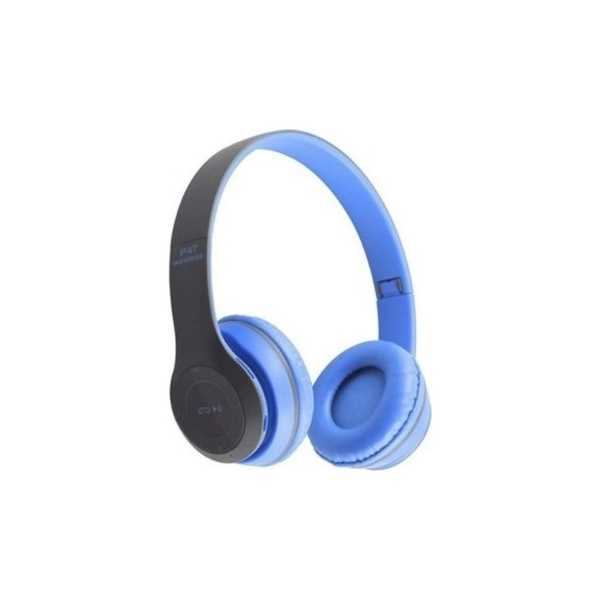 P47 Bluetooth Kulaküstü Kulaklık Mavi