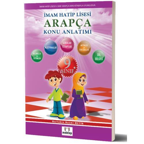 Mektep Yayınları 9.Sınıf Arapça Konu Anlatımı Mektep