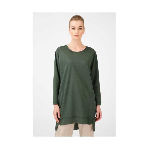 Class Giyim On Parça Dikişli Sıfır Yaka Tunik