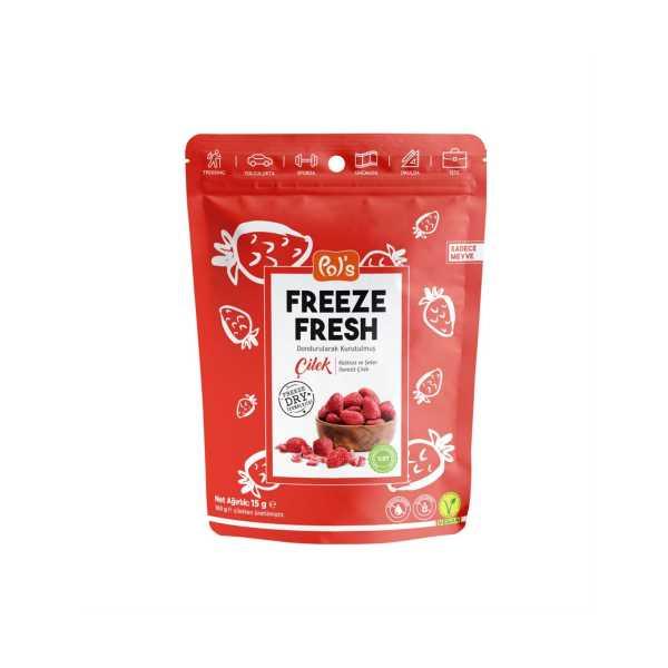 Pol's Freeze Fresh Çilek 15 gr.