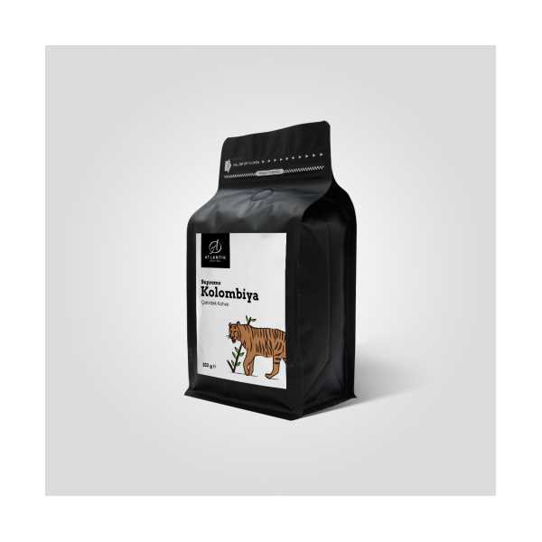 ATLANTİK COFFEE KOLOMBİYA SUPREMO FİLTRE KAHVE 250GR