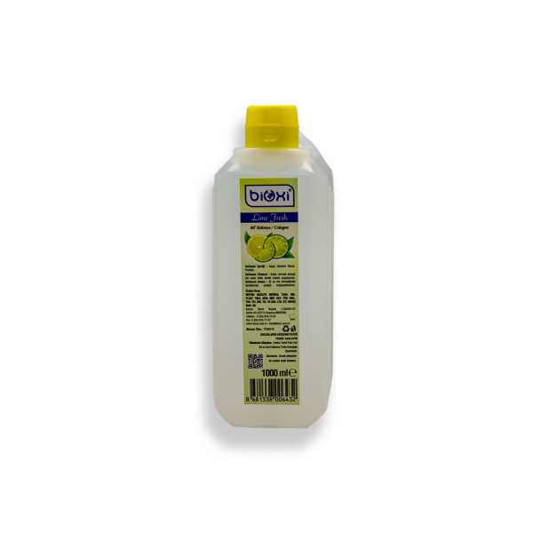 Bioxi® Lime Fresh Kolonya 80° Alkollü 1 LT.