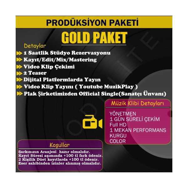 GOLD PAKET SINGLE PRODÜKSİYONU