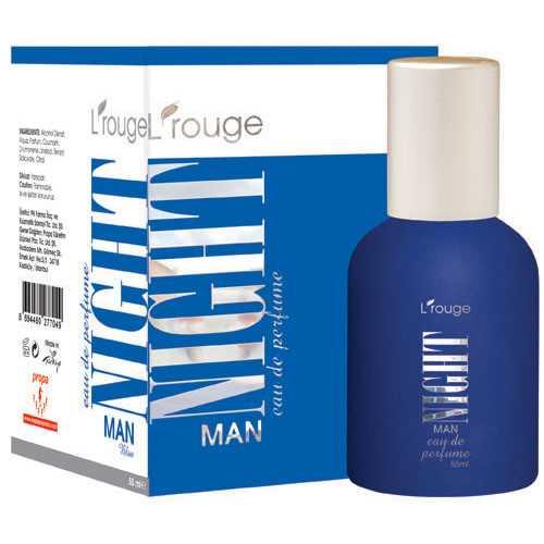 l'rouge Night Man Blue Parfüm 55 ml