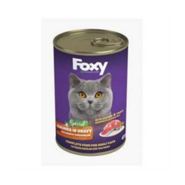 FOXY Kedi Maması 415Gr (SOMONLU)
