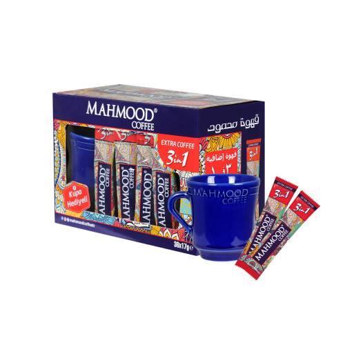 Mahmood Coffee 3in1 Extra Kahve 17 Gr 36 Adet Kupa Bardak Hediyeli midyatziv