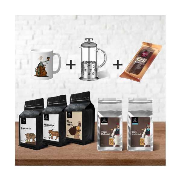 Atlantik Coffee Tanıtım Özel Kahve Tanışma Paketi
