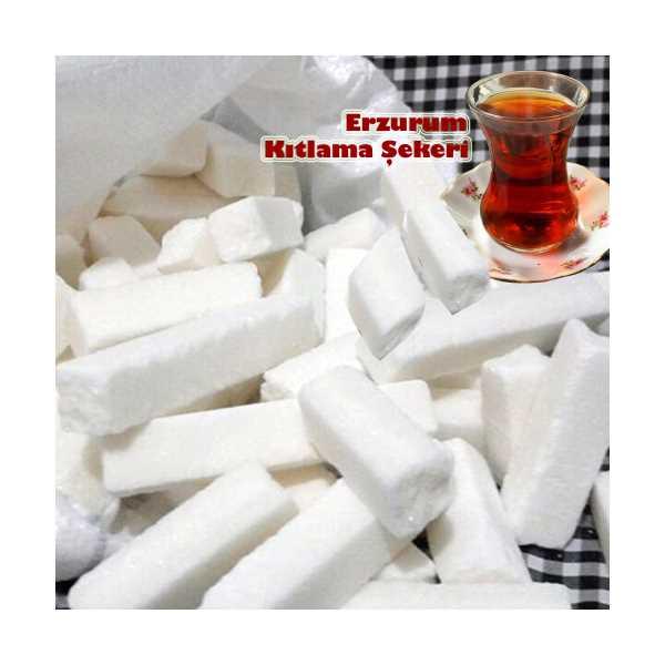 Erzurum yöresel gıda Erzurum Kıtlama Şeker 5 Kg | Erzurum Sert Kesme Küp Şeker 5000 Gr
