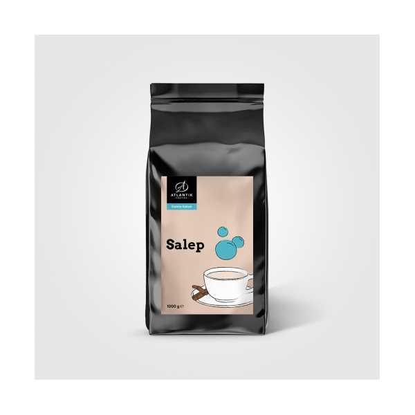 Atlantik Coffee Salep Damla Sakızlı 1000 gr