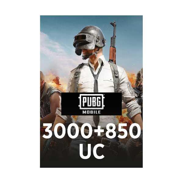 Pubg Mobile 3000 + 850 UC 2210000000177 Superepin