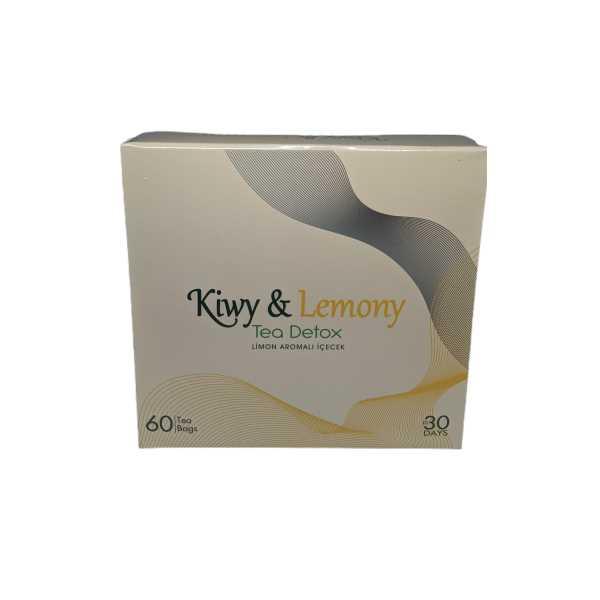 Kiwy Detox Tea 60'lı Detoks Çayı (1 AYLIK KULLANIM)