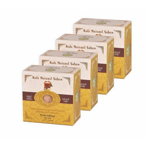 Kale Naturel Sabun - 4 lü Pirinç