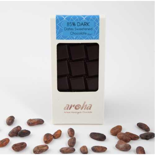 Aroha Hurma Özlü Bitter Çikolata - %85 Kakao