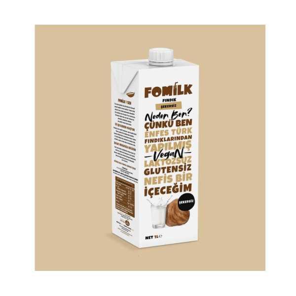 Fomilk Fındık Şekersiz / Hazelnut No Sugar 1L