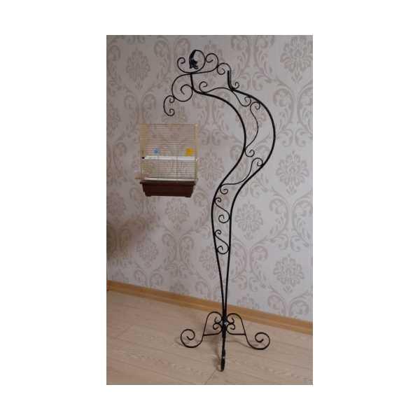 Dekoratif Ferforje Kuş Kafes Askılığı