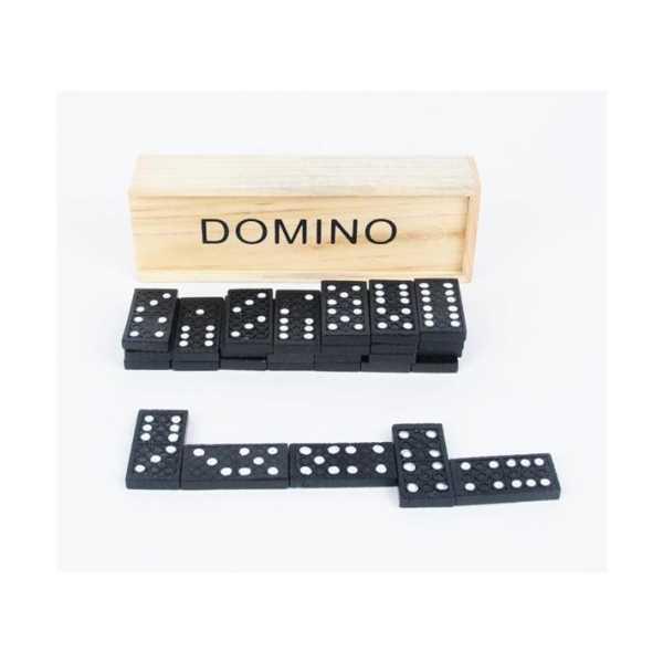 Ahşap Domino Seti