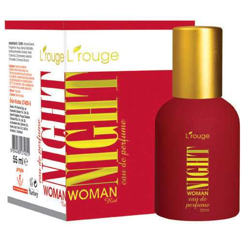 L'ROUGE NİGHT WOMAN RED PARFÜM 55 ML