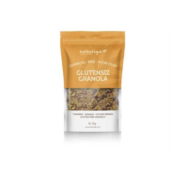 Naturiga Glutensiz Zerdeçal & Altın Çilek Granola(250gr)