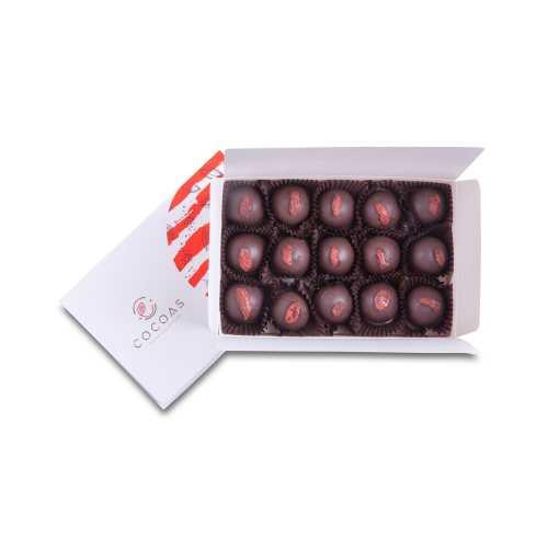 COCOAS CHOCOLAT Hayat Öpücüğü Vegan Truffle Çikolata Brüt 210 Gr (Net 180 Gr)