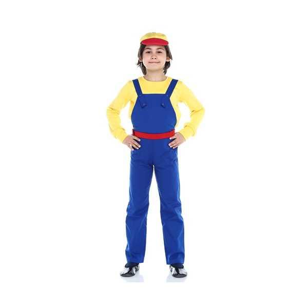 Tülü Akkoç Çocuk Mühendis Kostümü