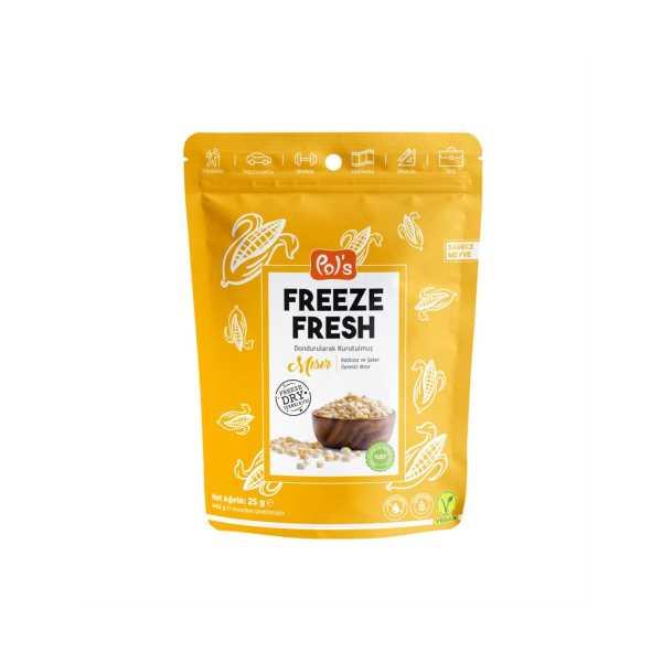 Pol's Freeze Fresh Mısır 25 gr.