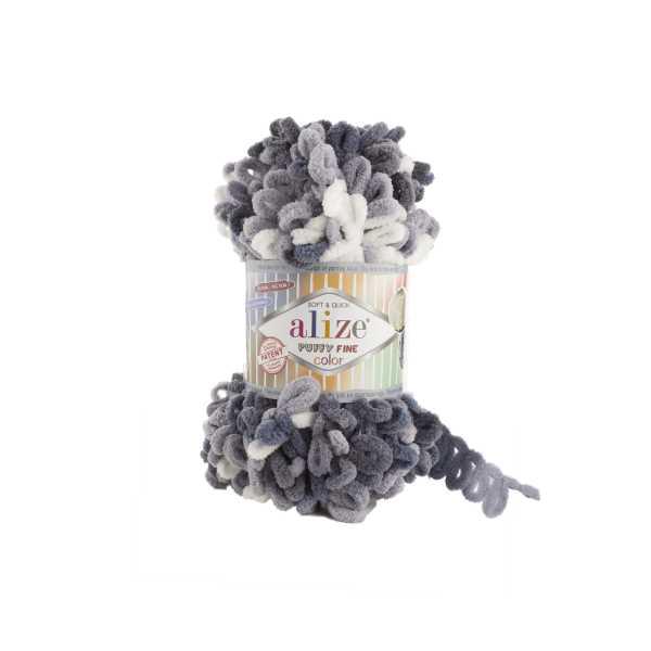 Alize Puffy Fine Color No: 5925 (5'li paket)