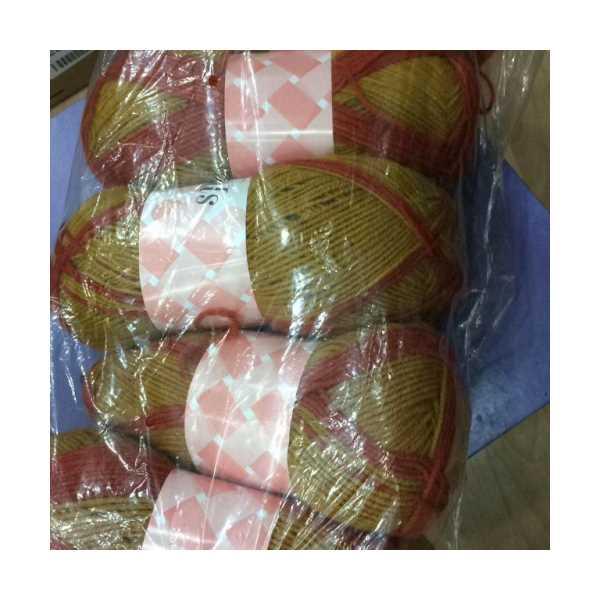 Akrilik örgü ipi 100 gr. 5 li Paket