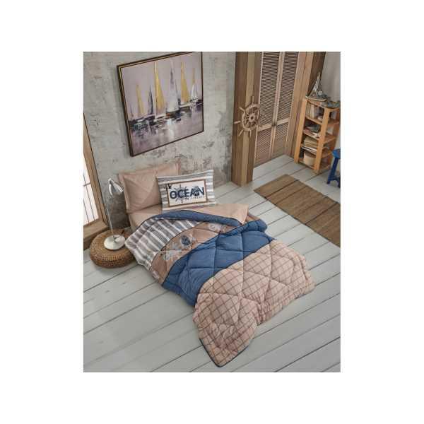 Cottonbox Genç Odası Tek Kişilik Uyku Seti Ocean Lacivert