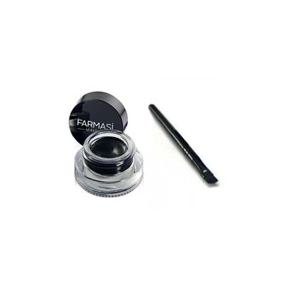 Kajal Jel Eyeliner 3gr  ve Fırçası Ücretsiz KARGO
