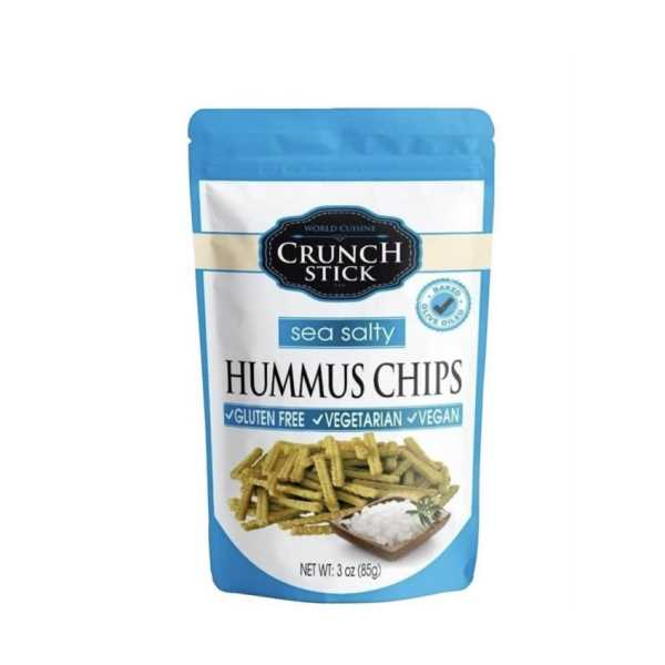 Crunch Stick Glutensiz Deniz Tuzlu Nohut Cipsi 85gr